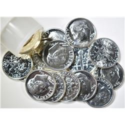 50 PROOF SILVER ROOSEVELT DIMES MIXED DATES