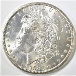 1883-CC MORGAN DOLLAR, CF/GEM BU