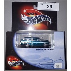 HOT WHEELS 1957 CHEVY NOMAD DIE CAST