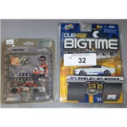 2 DIE CAST CARS
