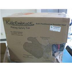 KIDS EMBRACE BELT-POSITIONING BOOSTER SEAT