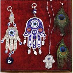 Evil Eye Protection & Hamsa Hand Jewelry,Earrings