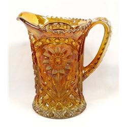 Antique Imperial Glass Co. Marigold Pitcher