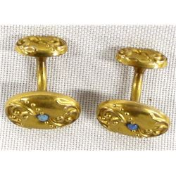 Antique Gold Cufflinks
