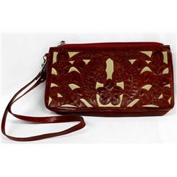 Leaders in Leather Tooled Leather Purse