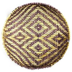 Native American 2-Toned Hopi Sifter Basket