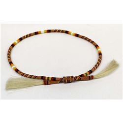 Beautiful Native American Beaded Hat Band