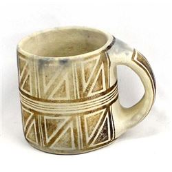 Native American Pottery Cup Replica