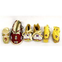 Native American Beaded Leather Miniatures