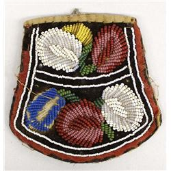 Vintage Iroquois Beaded Purse