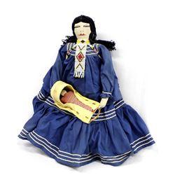 Vintage Native American Apache Cloth Doll