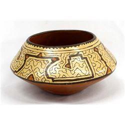 Vintage South American Shipibo Pottery Bowl