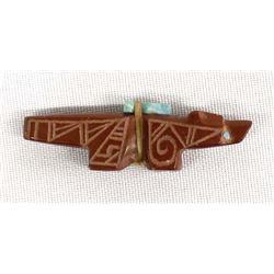 Native American Zuni Carved Pipestone Fetish