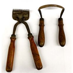 2 Antique Tools