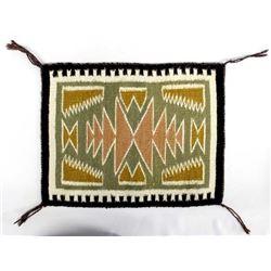 Beautiful Navajo Wool Textile Rug