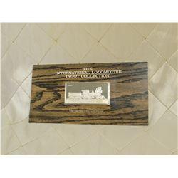 International Locomotive Ingot Collection by Franklin Mint 1974 60 grams