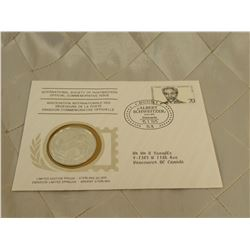 International Society of Postmasters Official Commemorative Issue 1975 19.4 grams