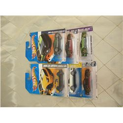 6 Hot Wheels Shelby Mustangs
