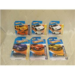 6 Hot Wheels Lamborghinis