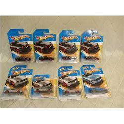 8 Hot Wheels 2012 Mustang Boss