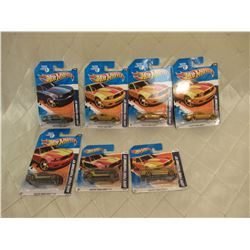 7 Hot Wheels 2010 Ford Mustang GT