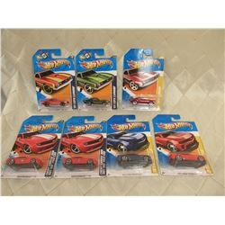 7 Hot Wheels Camaros