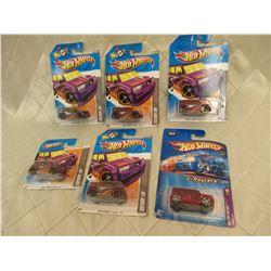 6 Hot Wheels Scion XB