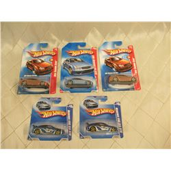 5 Hot Wheels Mercedes AMG GLK DTM