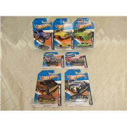7 Hot Wheels Heat Fleet '11