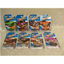 8 Hot Wheels Heat Fleet