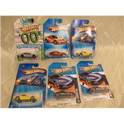 6 Hot Wheels Corvette