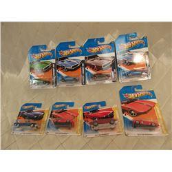 8 Hot Wheels Mustangs & Firebirds