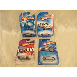 4 Hot Wheels Ford GT-40
