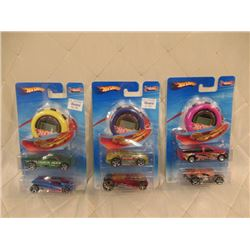 3 Hot Wheels Track Aces 2 Packs