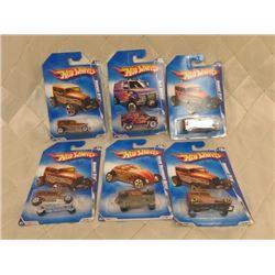 6 Hot Wheels Heat Fleet