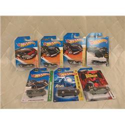 7 Hot Wheels Batmobiles