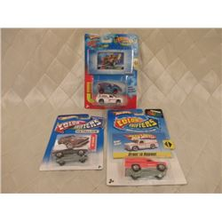 3 Hot Wheels Color Shifters