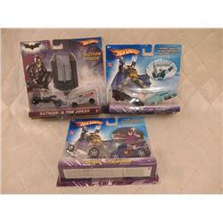 3 Hot Wheels Batman 2-Packs