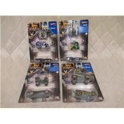 4 Batman 2-Packs with Mini Action Figures