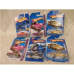 6 Hot Wheels Ford Trucks