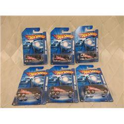 6 Hot Wheels GMC Motorhomes