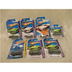 7 Hot Wheels Ford Shelby Mustangs