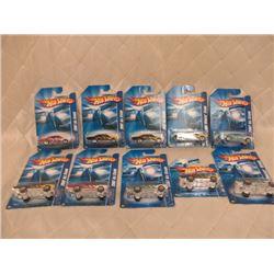 10 Hot Wheels Pontiac GTOs