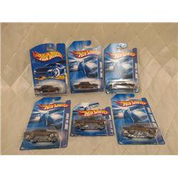 6 Hot Wheels Ford Thunderbirds