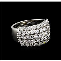 2.30 ctw Diamond Ring - 14KT White Gold