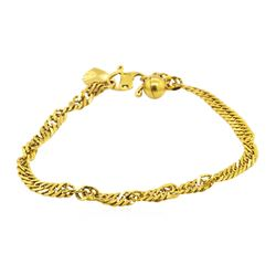 22KT Yellow Gold Braclet