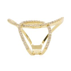 0.75 ctw Diamond Ring - 14KT Yellow Gold