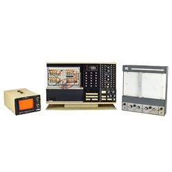 EAI MiniAC Analog Computer with Repetitive Operation Display Unit and Variplotter