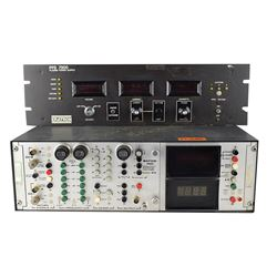Bafco Frequency Response Analyzer from Rockwell Downey and Plasma Power Supply Panel