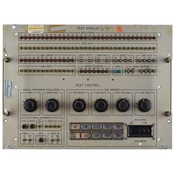 Computer Test Display Control Panel